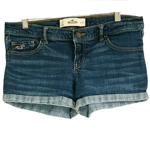 Hollister Women's Jean Short Shorts Size 5/27